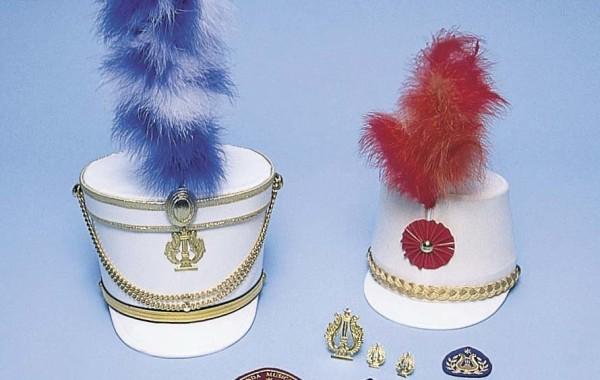 Cappelli, fregi e cetre